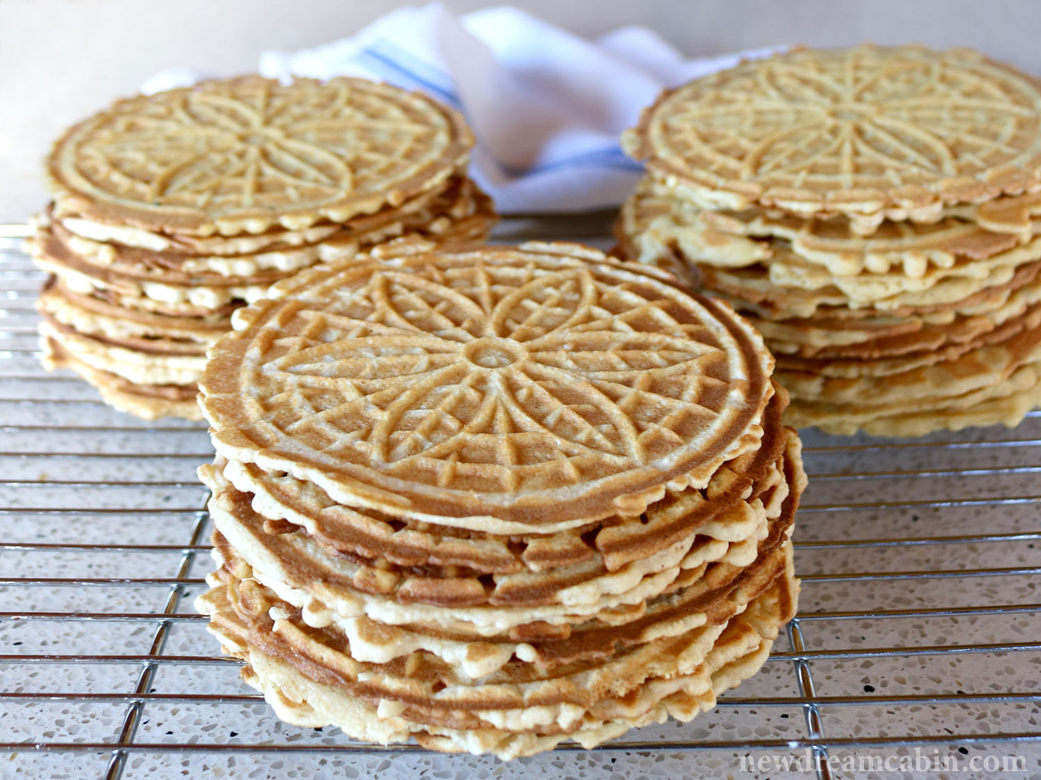 Watch How to Make Half Whole Wheat Pizzelles With Dark Chocolate Speckles video